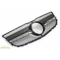 Grille Sport all black for Mercedes X204 GLK-CLASS AMG LOOK